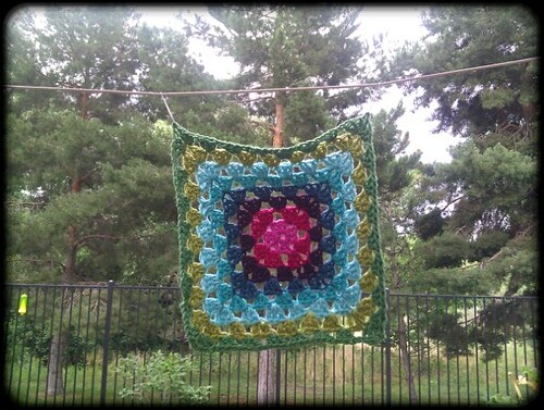 Granny square #1