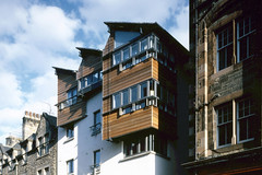 View of Canongate Housing From Royal Mile