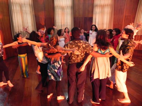 Energia antes da apresentação by Silvana Abreu