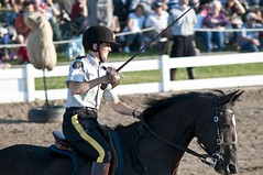 Equitation Skills-Sword (Tawaw) Tags: horses canada flag ottawa police rcmp equestrian stetson mounties mountedpolice royalcanadianmountedpolice policehorses musicalride redserge canadianpolicecollege