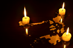 Brownout sa Pinas (Vik Caedo) Tags: light island islands candles candle philippines wax candlelight sa pilipinas philippine brownout philippineislands