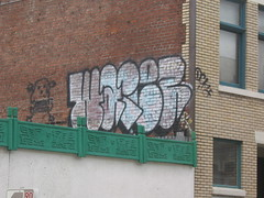 Warez (Wet Paint Opera) Tags: art oregon portland graffiti words paint or ups pdx graff westcoast 503 dck upsk ivk