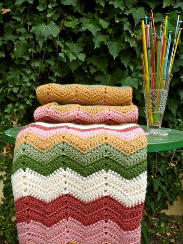 Granny Chevron Blanket