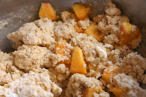 peaches cream scones 1