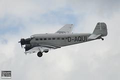D-CDLH - D-AQUI - 130714 - Lufthansa Berlin-Stiftung - Junkers Ju-52 3mg8e - 110710 - Duxford - Steven Gray - IMG_8167