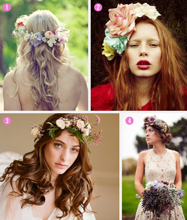 Omaha, Nebraska Wedding Planner hair-flowers_2
