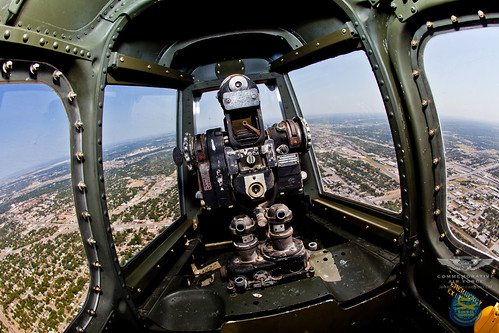 And the view f    B 29  B 29 Superfortress Tail Gunner