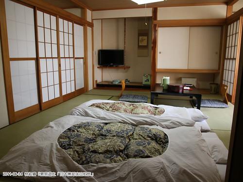 非常日式風味的臥房