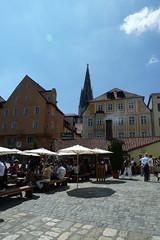 Regensburg beer garden