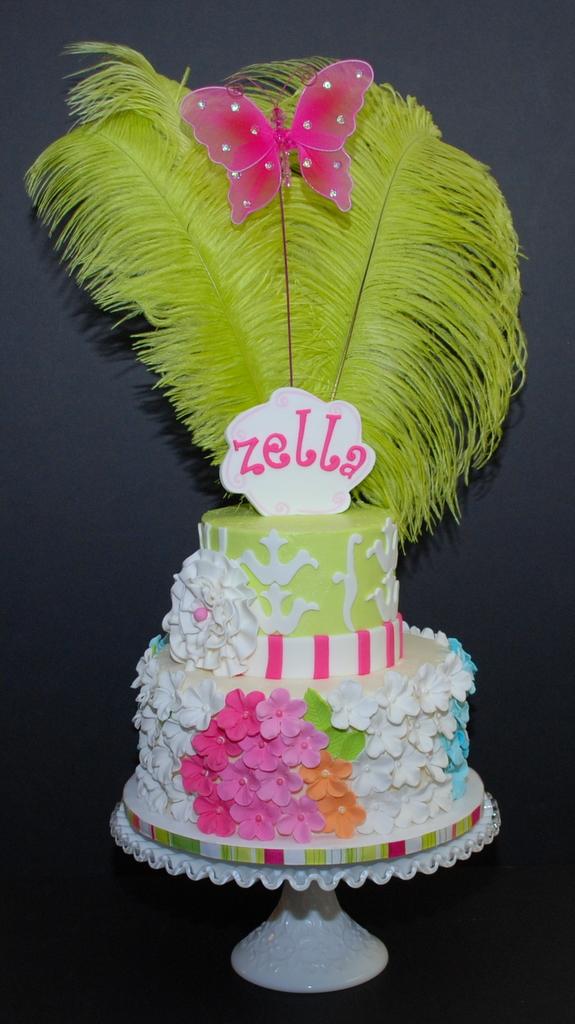 Floral Fun Birthday Cake
