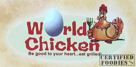 World Chicken - Be good to your heart... eat grilled! - CertifiedFoodies.com