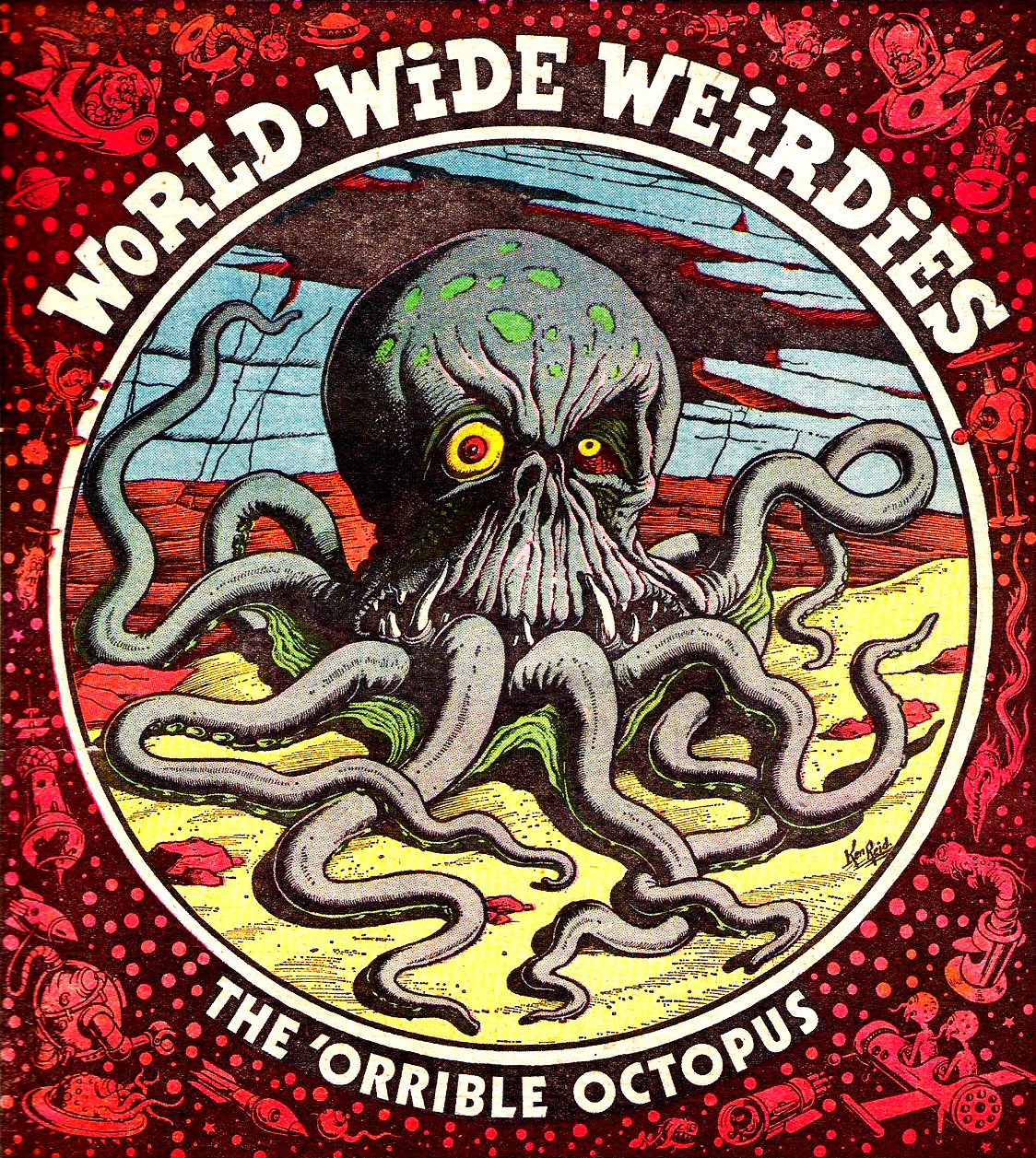 Ken Reid - World Wide Weirdies 59