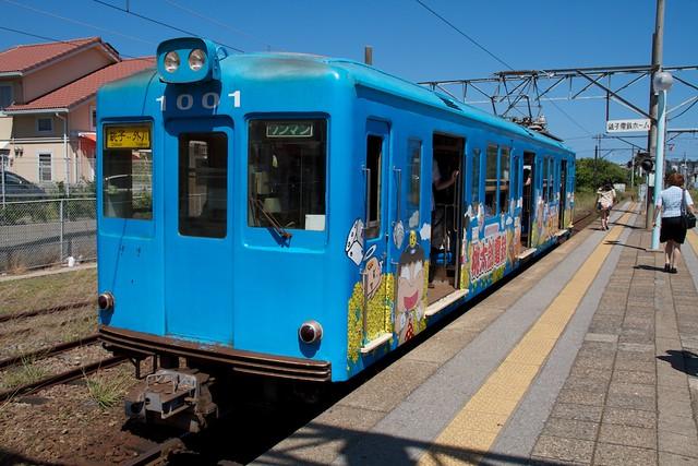 銚子電鉄 デハ1001