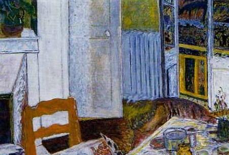 Pierre Bonnard, Intérieur blanc (1932)