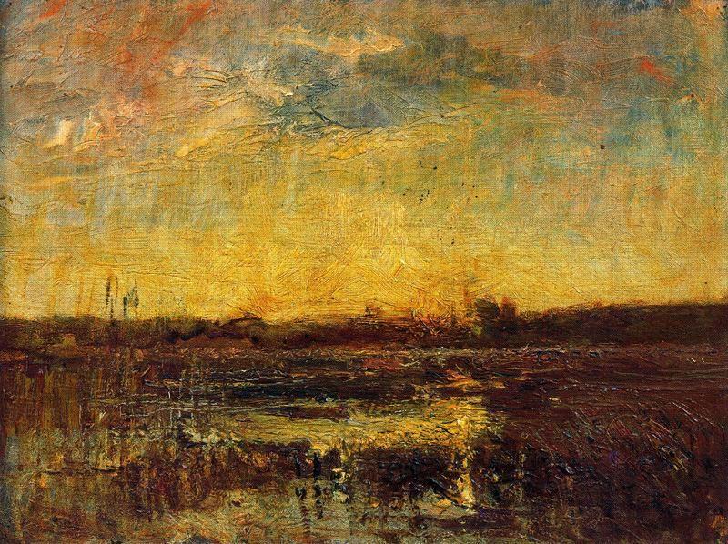 François Auguste Ravier, Soleil levant (1870)