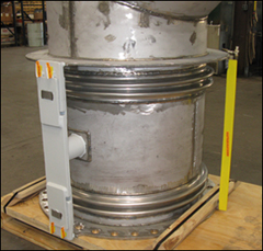Custom Universal Expansion Joint and Duct Work Assembly