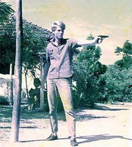 Alfredo Sirkis treinando na clandestinidade - luta armada - guerrilha
