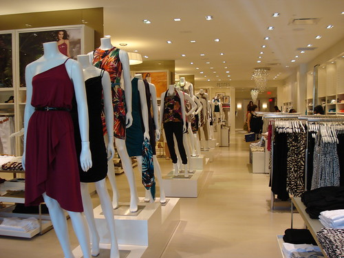 The loft clothing store