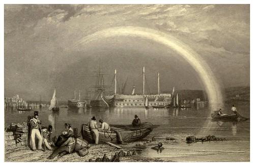 008- Hamoaze- Inglaterra-Stanfield's coast scenery…1836- Clarkson Stanfield
