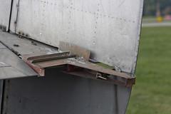Rudder lock (maciekish) Tags: lockheed lodestar 182359 l1810 l1808 n119j n30030