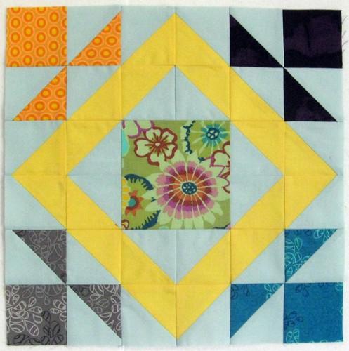 Summer Sampler Series Block 4: Flower Garden Path
