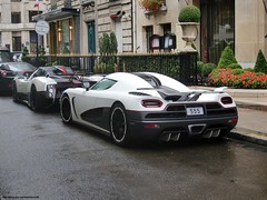 Zonda Cinque + Koenigsegg Agera R (alexsmolik) Tags: plaza summer paris dubai unique royal arabic arab r vip 55 avenue limited edition luxury rare limitededition luxe cinque zonda koenigsegg qatar spoiler exotics montaigne roadster royals exoticcars ksa luxurious pagani blackrims luxurycars 2011 koweit veryrare althani qatari 1of5 uniquecars athne qatarcars ccxr agera plazaathne paganizondacinque arabcars zondacinque summer2011 zondacinqueroadster arabiccars qataricars koenigseggagerar agerar