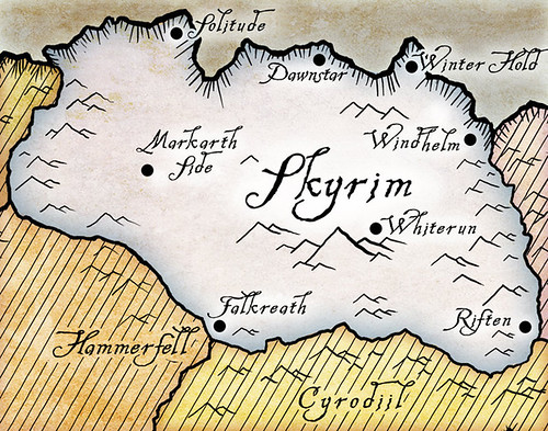 Elder Scrolls V: Skyrim Cities and Famous Locations