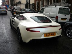 One-77 (BenGPhotos) Tags: white london car fast exotic british rare supercar spotting astonmartin v12 hypercar one77 xc11aje