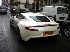 One-77 (BenGPhotos) Tags: white london car fast exotic british rare supercar spotting astonmartin v12 hypercar one77 xc11aje