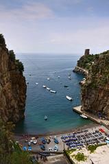 Furore, Campania, Italy (**Anik Messier**) Tags: italy cliff boats europe mediterranean campania amalficoast gorge hillside fiord touristattraction fiordo furore artistpicks anikmessiercopyright gettyimagesitalyq1