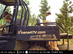 Checking trail cams, caught on camera... It is a family event by HighCottonHunting