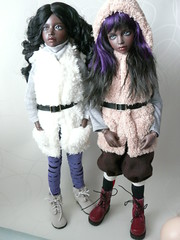 Mary Kate and Ashley (Idril-Keeps) Tags: ball doll bjd jointed