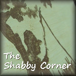 shabby corner button