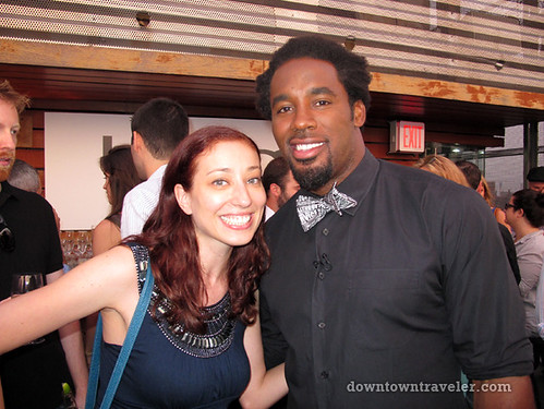 Bing Travel event in NYC_Leslie and Dhani Jones