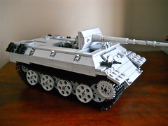 Panther Tank Wip (βricks-to-use) Tags: tank lego wwii wip german ww2 heavy panther panzer
