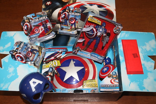 Hasbro Captain America press kit