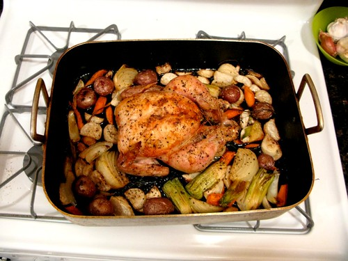 Thomas Keller's Roast Chicken with Root Vegetables - Amateur Gourmet