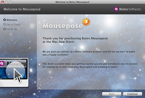 Welcome to Boinx Mouseposé