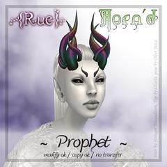 .{Rue}. Horn'd / Prophet