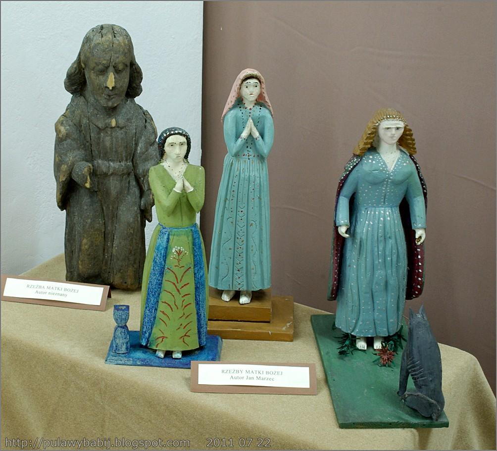 Rzeźby Matki Bożej w Muzeum Ziemi Biłgorajskiej