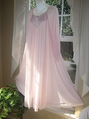 Miss Elaine Pink Antron Nylon Lace Embroidered Nightgown Full Length Front Left 1 (mondas66) Tags: ruffles lace lingerie boudoir romantic gown elegant gowns ornate lacy nylon nightgown sheer frilly nightgowns elegance nightdress ruffle nightwear frill ruffled nightie lacework frilled nighties misselaine antron nightdresses frilling frillings befrilled