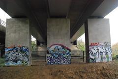 Under The Bridge... (d.o.photo) Tags: bridge composition graffiti photo paint do shoot photographer dom symmetry harris