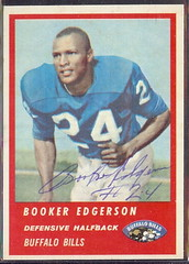 1963 Fleer - 30 - Booker Edgerson