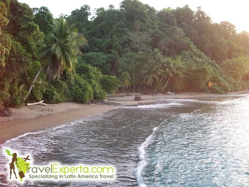 Cano Island Costa Rica Beach