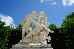 A statue along Alle Royale in the gardens of Versailles (chaojiwolf) Tags: sculpture paris france statue europe ledefrance versailles chteau palaceofversailles gardensofversailles chteaudeversailles tapisvert alleroyale jardinsduchteaudeversailles palaceandparkofversailles