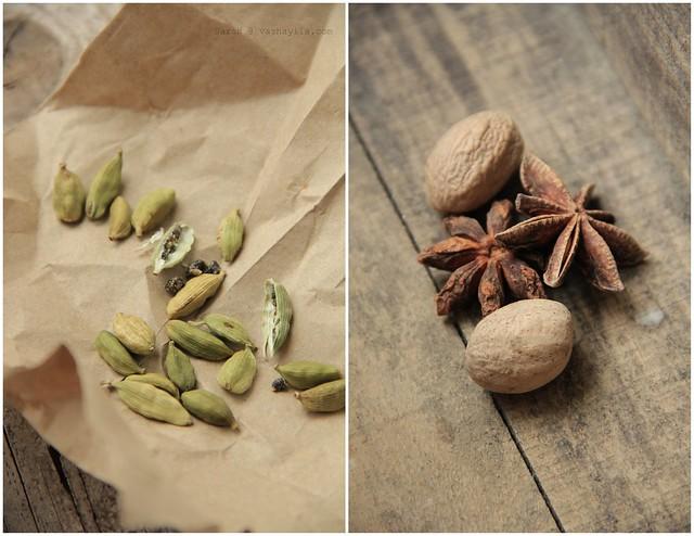 Cardamom+Star anise+Nutmeg