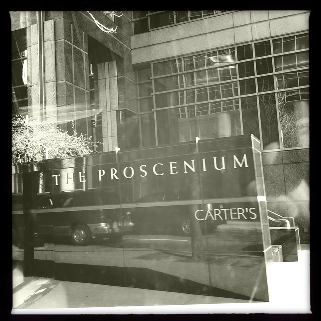 The Proscenium Viewed Through iPhone Photo App