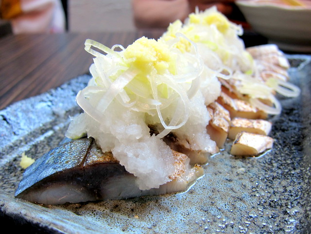 Grilled Atka Mackeral