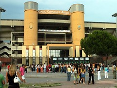Facciata stadio Arechi di Salerno