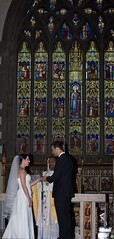 I do (Reverend Sam) Tags: windows wedding history church glass eva sheffield ceremony stainedglass rodrigo vows cathedralchurch stmaries